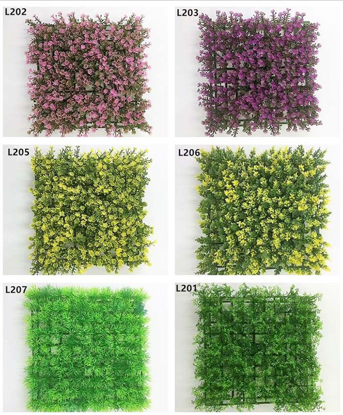 2017 New Arrival Plastic Artificial Flower For Wall Decoration